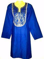 Strandkleid Sommerkleid Kleid Tunika Goa Boho Hippie Beach Indisch Gr. XXL