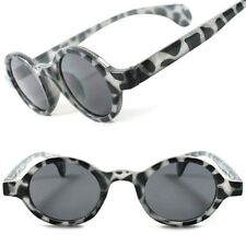 Classic Vintage Retro Hippie Fashion Old School Hipster Small Round Sunglasses