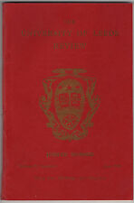 """The University of Leeds Review"" Jubilee number June 1954"