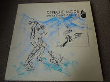 """Depeche Mode Everything Counts (In Larger Amounts) RARE 12"""" Single"""