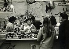 Photo Pierre Parente Argentique Paris Commerce Casse Croute Humaniste Vers 1960