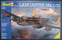 REVELL 04300 - Avro LANCASTER Mk.I / II - 1:72 - Flugzeug Modellbausatz - Kit