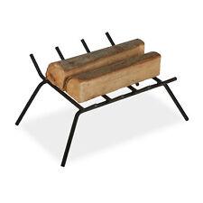 Kamin Feuerrost Schmiedeeisen, Kaminrost Kohlerost mit Füßen, Feuerbock Ofenrost