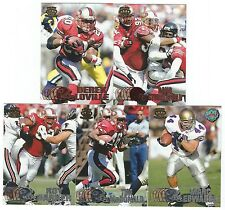 1997 Pacific Silver & Copper San Francisco 49ers 5 card lot