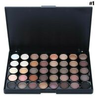 Eye shadow Palette Warm Color Makeup  Waterproof  Palette Professional 40 Colors