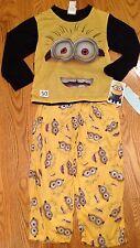 Despicable Me Minion Boys sleepwear Yellow & Black Size Large #50
