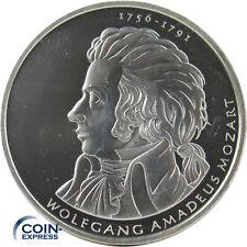 *** 10 Euro Gedenkmünze DEUTSCHLAND 2006 Wolfgang Amadeus Mozart D Silber ***