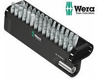 WERA Tough 30 Pce PH/PZ/TX/Hex/Slot Screwdriver Bit Set + Magnetic Holder 057434