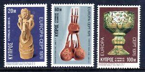 CYPRUS  1976    EUROPA SET          SG  452/4    MNH UM