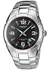 Polierte Casio Edifice Armbanduhren mit Datumsanzeige