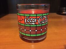 1999 Red Coca Cola Candle Vintage Looking by Candle Lite