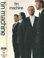 DAVID BOWIE TIN MACHINE EMI U.S.A. CASSETTE Album Alternative Hard Rock Pop uk