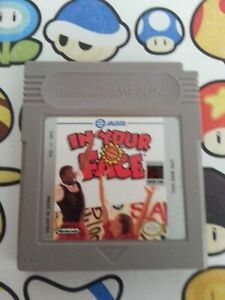 Nintendo  Gameboy IN YOUR FACE  Video game FREE SAME DAY  POSTAGE