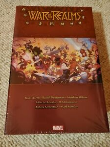 War of the Realms Omnibus - New & Sealed Hardcover - Marvel 2020