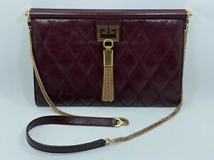 Givenchy Gem Medium Bag in Diamond Quilted Leather