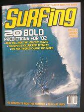 Surfing Magazine Uncirculated 2002 Vol.39 Apr. Surfing Hawaii Surfer Longboard