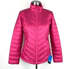 NEW Columbia Womens Small Thin Puffer Jacket Packable MORNING LIGHT $99