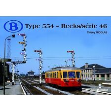 NicolasCollection 978-2-930748-12-2 Buch SNCB NMBS Type554 Reeks/Série46 Neu+OVP