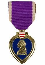Médaille Purple Heart insigne US ARMY WW1 & WW2 REPRO Guerre Mondiale Vietnam