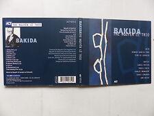 CD Album THE NGUYEN LE TRIO Bakida  9275 2