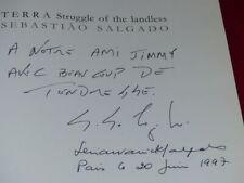 [PHOTOGRAPHIE] JAMES A. FOX (Ag. MAGNUM) TERRA Signé SEBASTIAO SALGADO EO 1997
