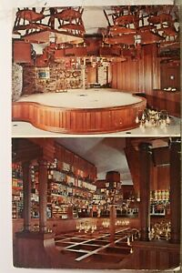 Texas TX Houston Alfred Restaurant Delicatessen Pastry Shoppe Postcard Old View