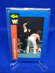 WWF Classic Trading Card 1991 Undertaker #106 Rookie RC wwe wcw
