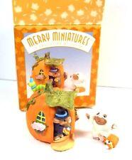 Hallmark Merry Miniatures Halloween set Happy Haunting