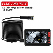 4,3Zoll 2-10M Endoscope Endoskop 8 LED Inspektionskamera Mit HD Bildschirm 1080P