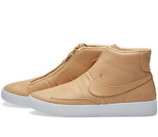 NIKELAB BLAZER Stivali Metà Scarpe da ginnastica ADVANCED FASHION-UK 9 (EUR 44) Vanchetta Tan