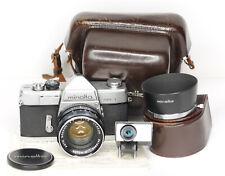 Minolta  SR-1  35mm Film SLR with Minolta Rokkor-PF 55mm f1.8 Lens  (4156BL)