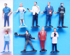 1965 GILBERT JAMES BOND 007 GOLDFINGER DR NO THUNDERBALL FIGURES DOMINO ODD JOB