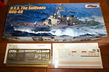 1/350 USS THE SULLIVANS DDG-68 BURKE + GOLD MEDAL PHOTO-ETCHED + DECAL by DRAGON