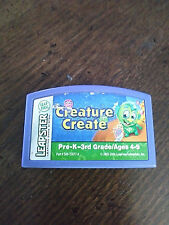 """Leap Frog Leapster"" Creature Create Pre-K - 3rd Grade / Used"