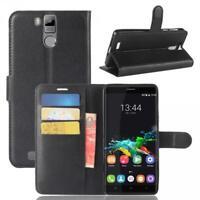 Oukitel K6000 Pro Custodia a Portafoglio Protettiva Cover wallet Case Nero