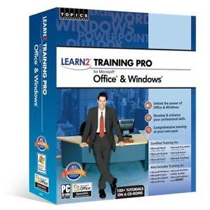 Learn how to use Microsoft Office & Windows (100+ Tutorials) 6 CD Set