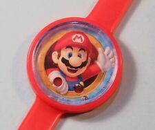 2016 Nintendo Super Mario Bros. Childs Wrist Watch shape Game