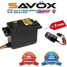 Savox SV-0220MG High Voltage Metal Gear Digital Servo+ Free Glitch Buster