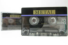 2x Sony ES IV Metal 70 - Cassette Tapes Vintage Prerecorded Sold As Blank Japan