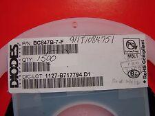Diodes, Inc. NPN 45V/100mA BC847B-7-F, SOT-23, RoHS, 100pcs