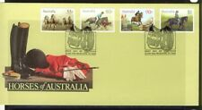 Australia 1986 Horses First Day Cover -Apm17221