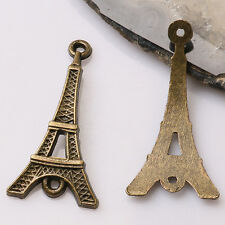 8pcs antiqued bronze color crafted  tower link design  charms  EF3401