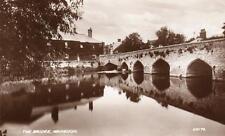 The Bridge Abingdon unused RP old pc 1939 Valentines