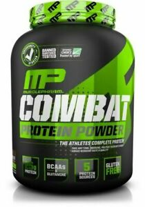 MusclePharm Combat Protein Powder, Chocolate Milk - 4lbs