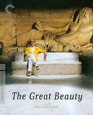 The Great Beauty (Blu-ray/DVD, 2014, 2-Disc Set, Criterion Collection)