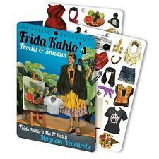 More details for frida kahlo - fridge, magnetic dress-up wardrobe set
