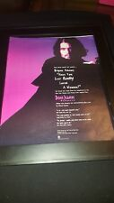 Bryan Adams Have You Ever Really Loved A Woman Rare Promo Poster Ad Framed! #3