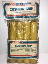 Vintage Norco Bicycles Handle Bar Padding Cushion Grip Yellow (Nos)