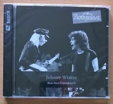 JOHNNY WINTER Live At Rockpalast 1979 Blues Rock Legends Vol. 3 - CD neuf scellé