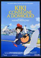 Manifesto Kiki Entrega En Pizza Hayao Miyazaki Animación Dibujos Película P01